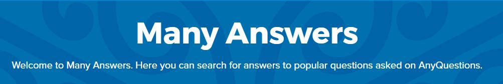 Many Answers