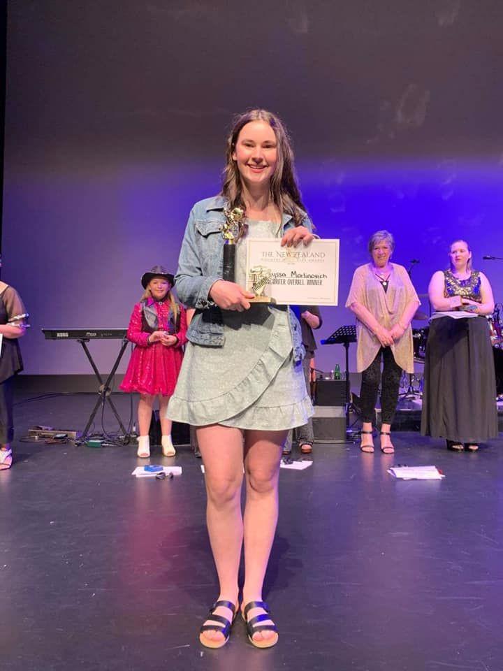 Alyssa Martinovich Winning Award