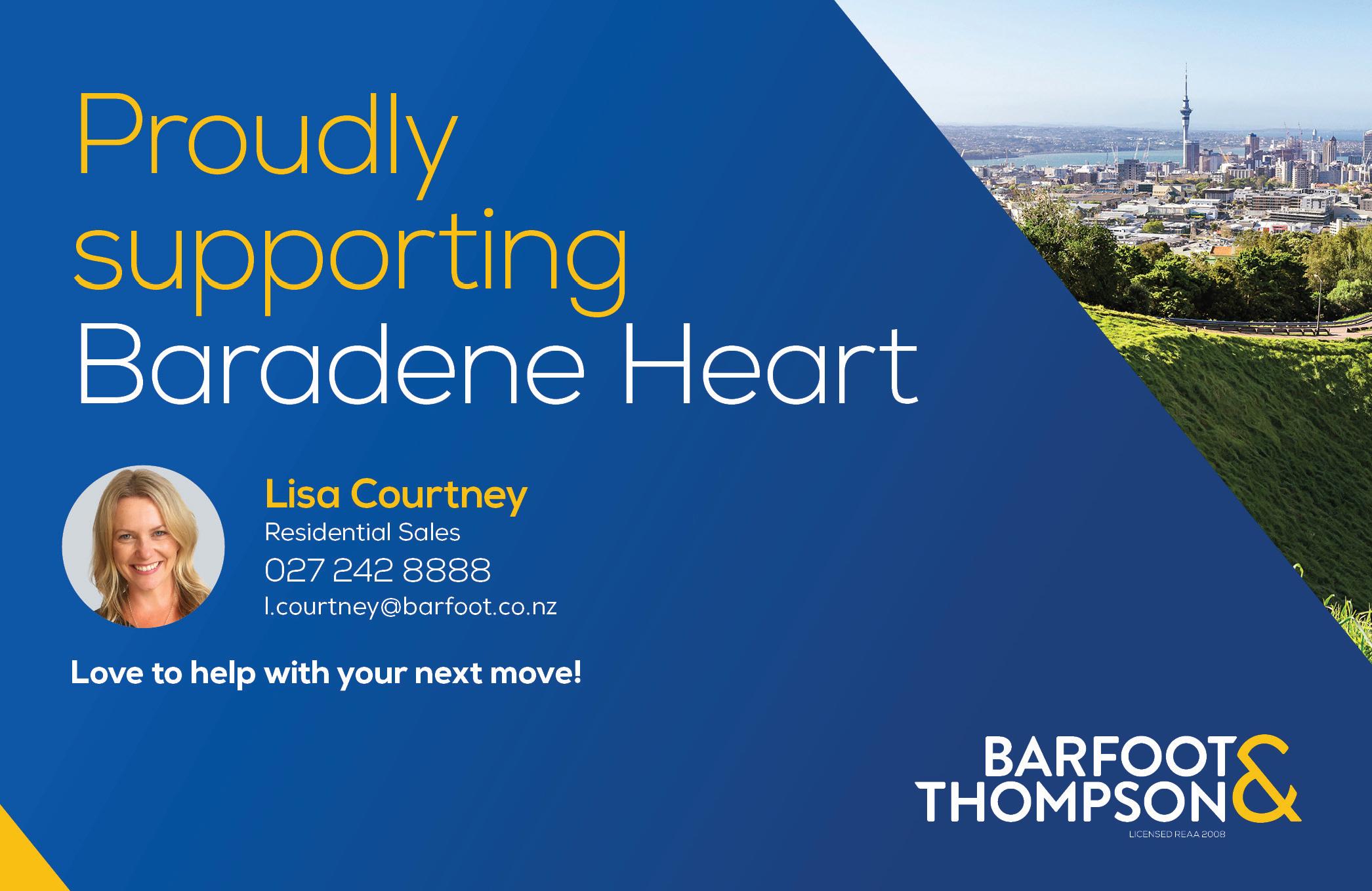 Mte00016 L Courtney Baradene Heart Mag Ad 115x177mm Print